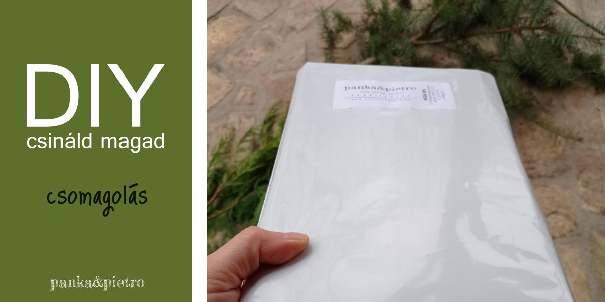 panka&pietro csomagolás könyvcsomagolás pántolás