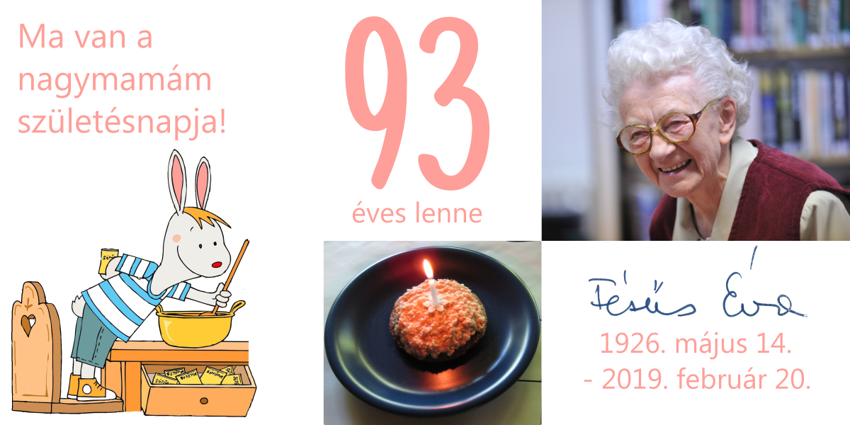 Fésűs Éva 93 szültésnap panka&pietro
