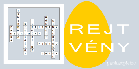 Húsvéti keresgélős rejtvény panka&pietro játék